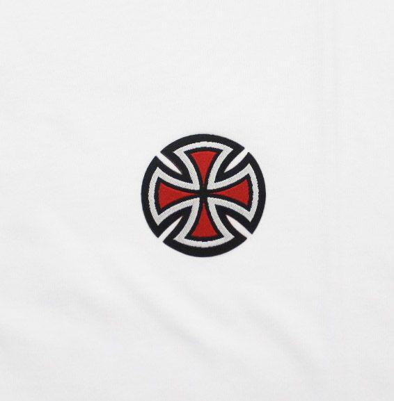 Camiseta Independent 4 Tier Cross Tree Colors Bottom White