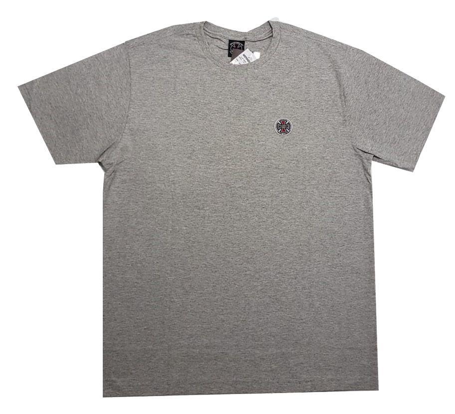 Camiseta Independent Barc Cross Logo Grey