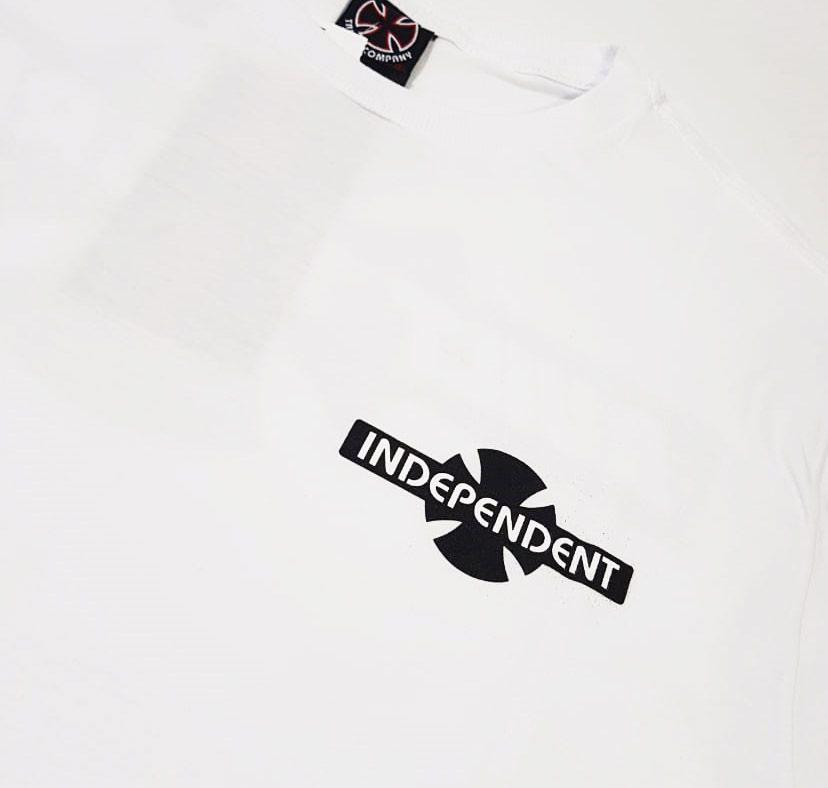 Camiseta Independent BTG Cross White