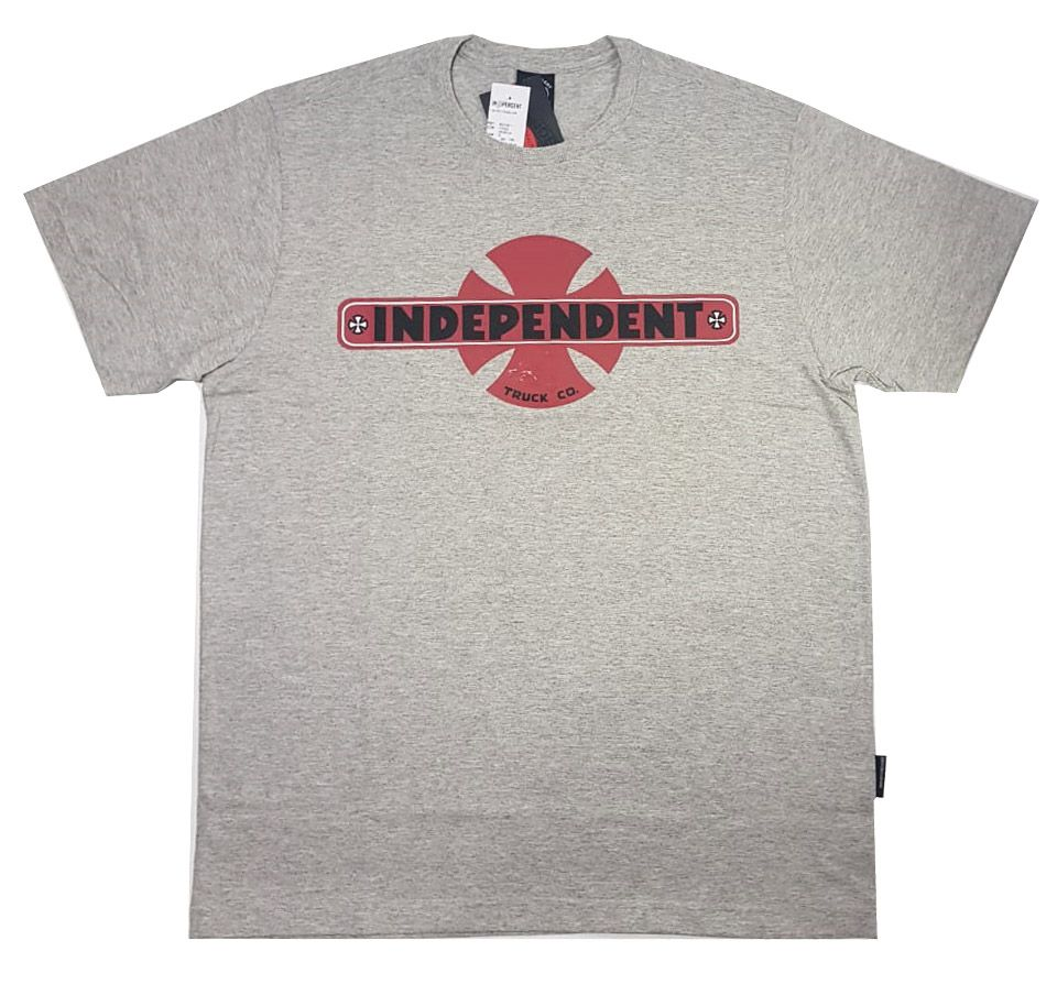 Camiseta Independent Familiar Grey