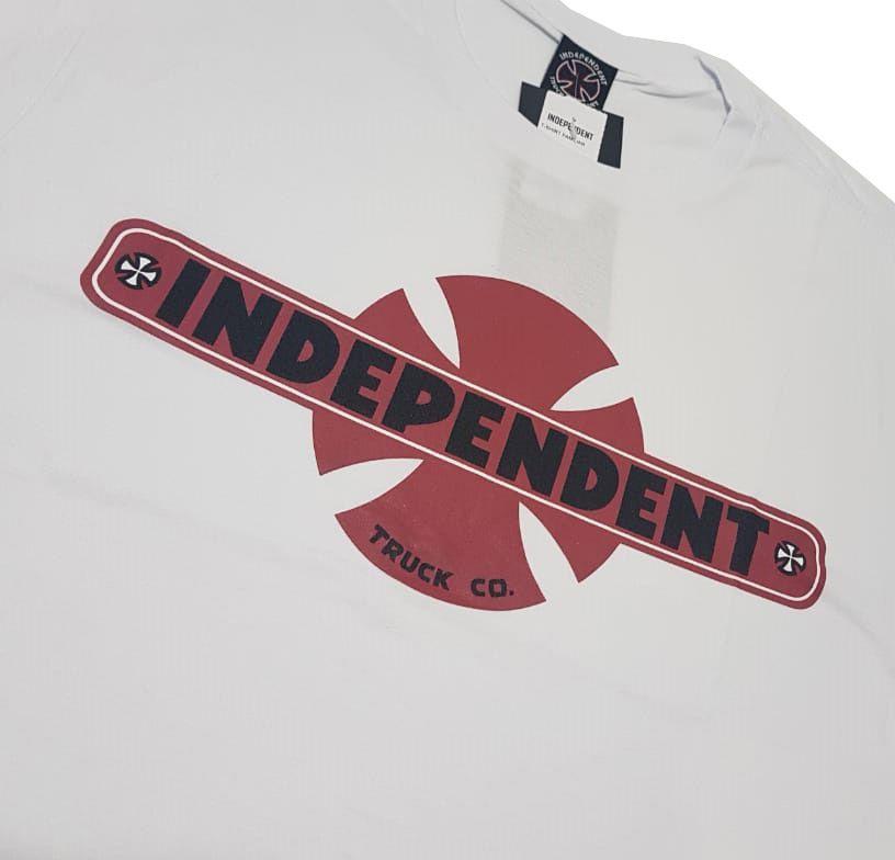Camiseta Independent Familiar White