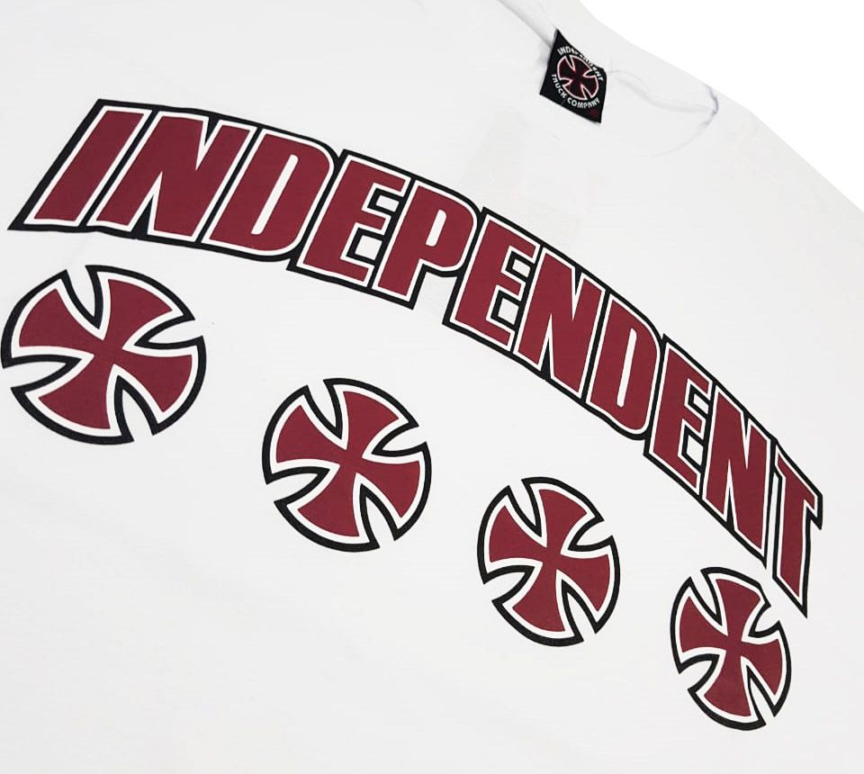 Camiseta Independent NBR Bar White