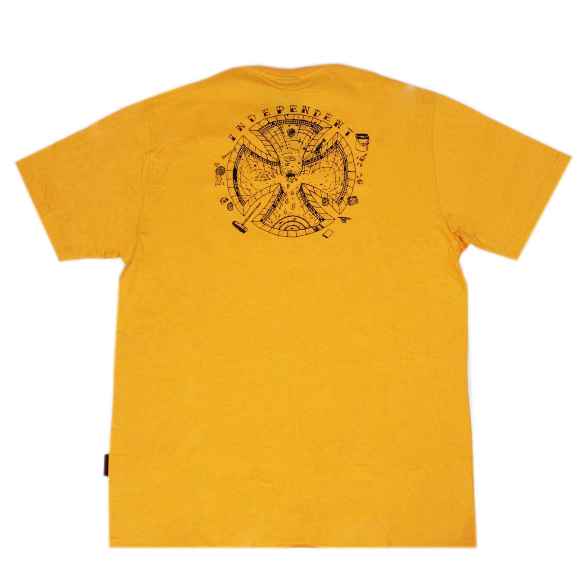 Camiseta Independent Pool Scum Amarelo
