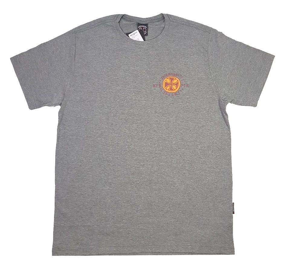 Camiseta Independent Stearns Cyclops Grey