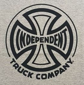 Camiseta Independent Truck Co One Color Grey