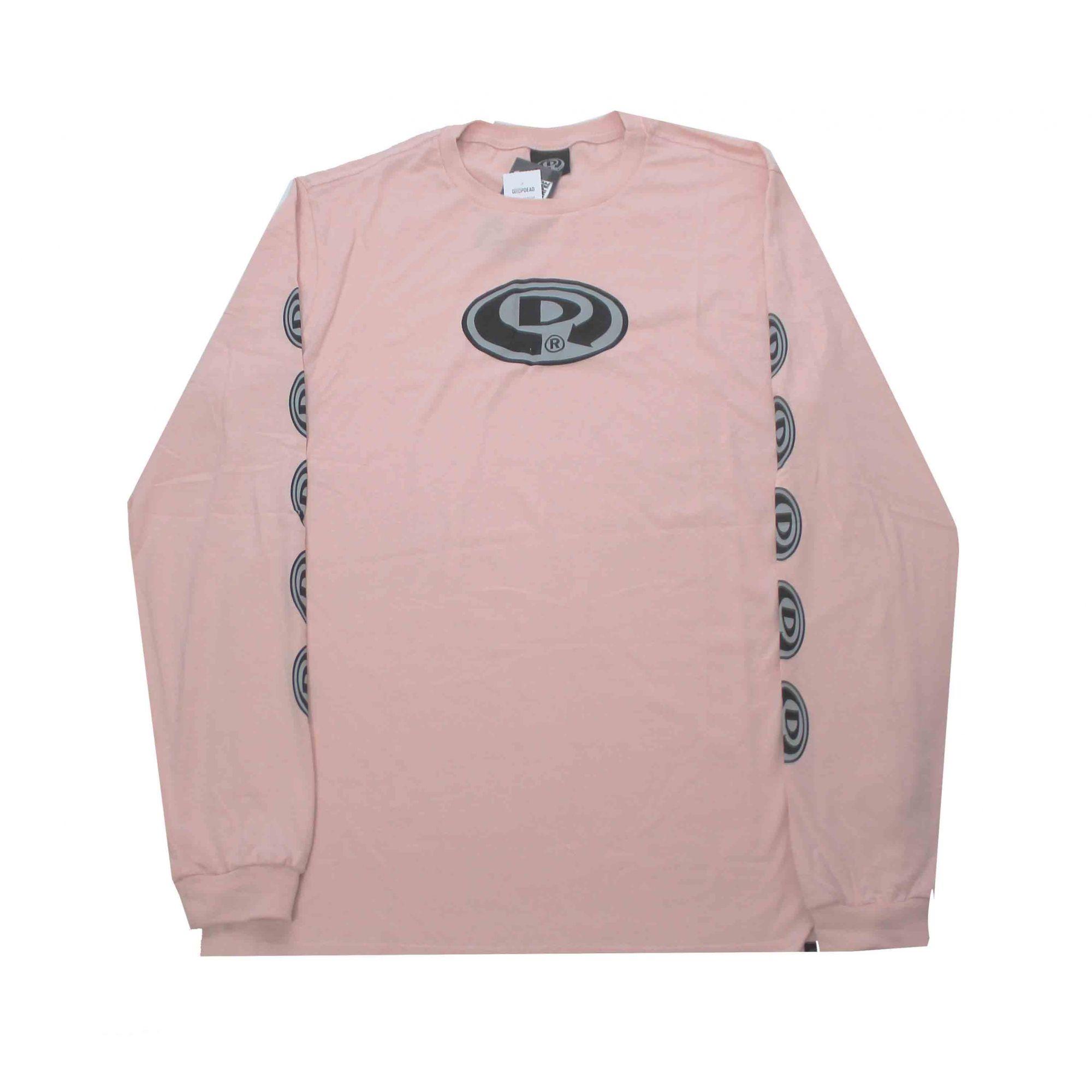 Camiseta Manga Longa Drop Dead Og Slleve Pink