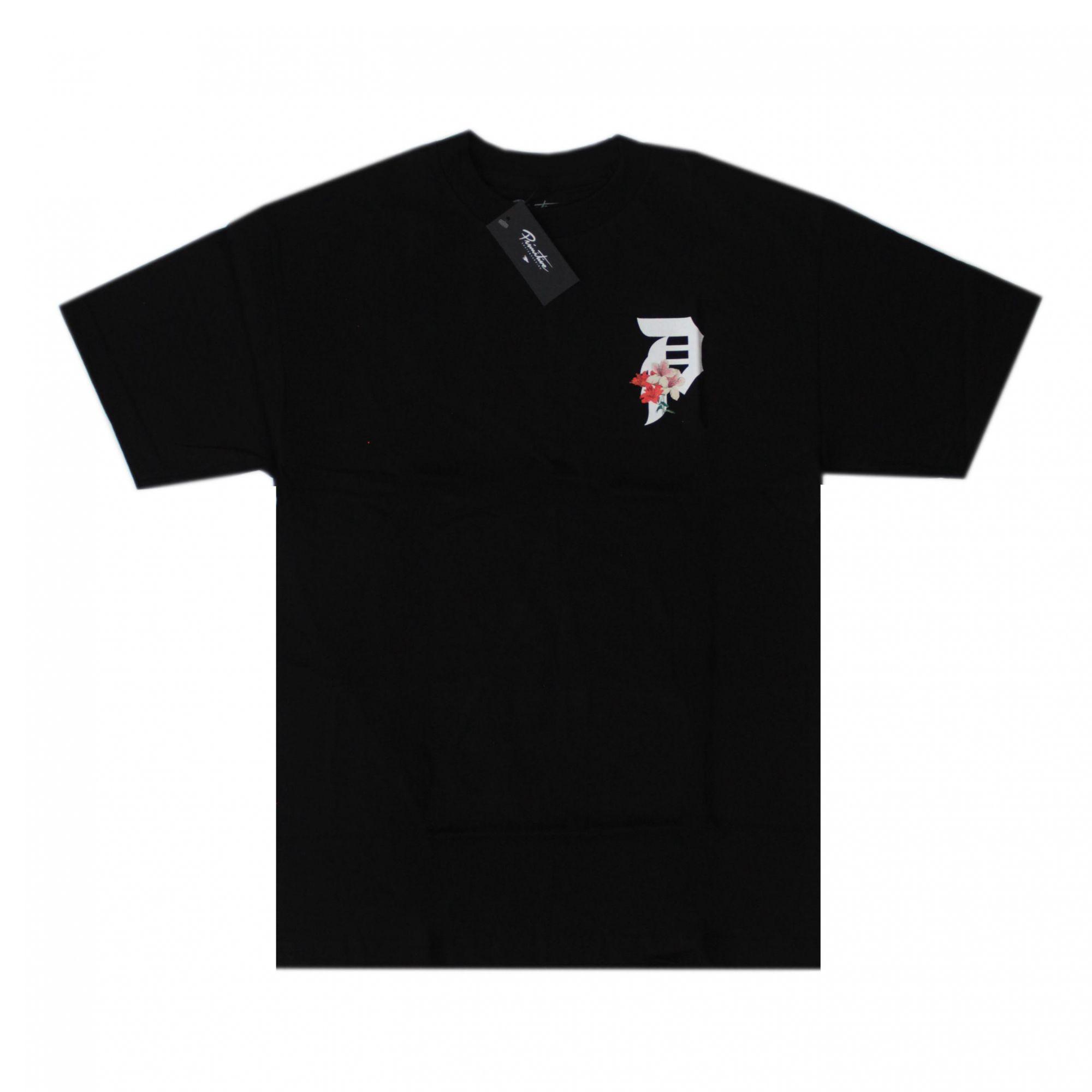 Camiseta Primitive Dirty P Casual Tee Preto P Lily Tee Preto