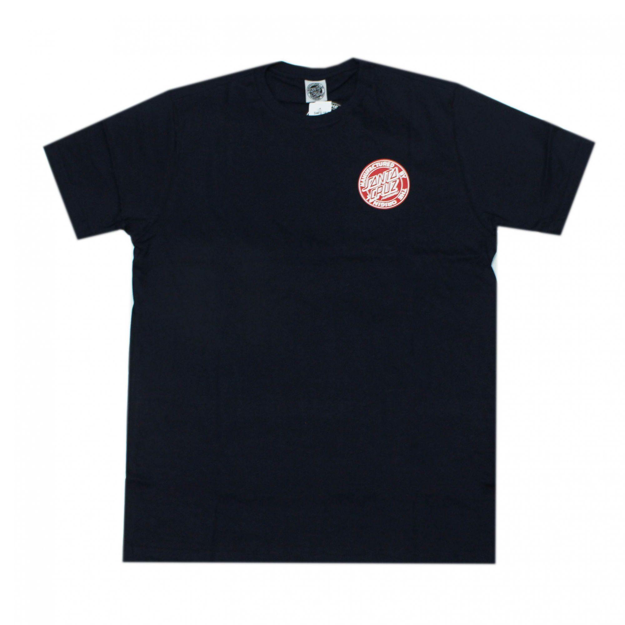Camiseta Santa Cruz Dot Fill Azul Marinho