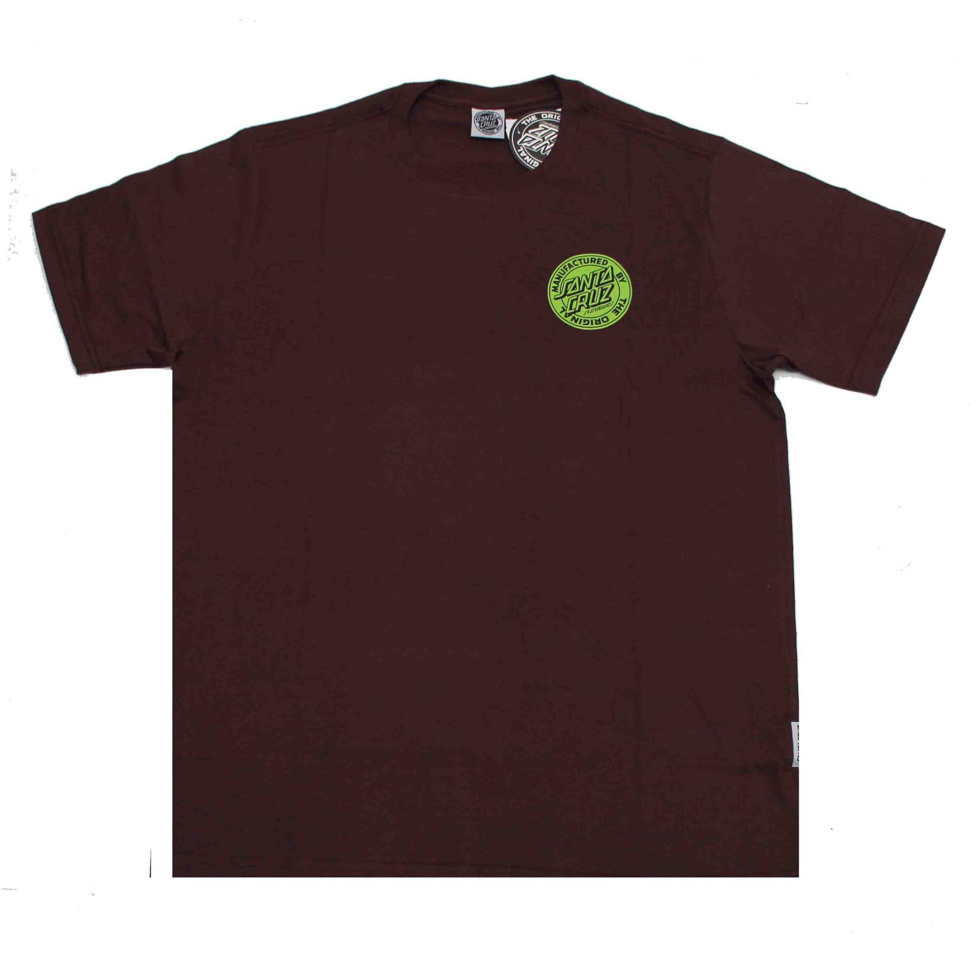 Camiseta Santa Cruz Dot Fill Wine
