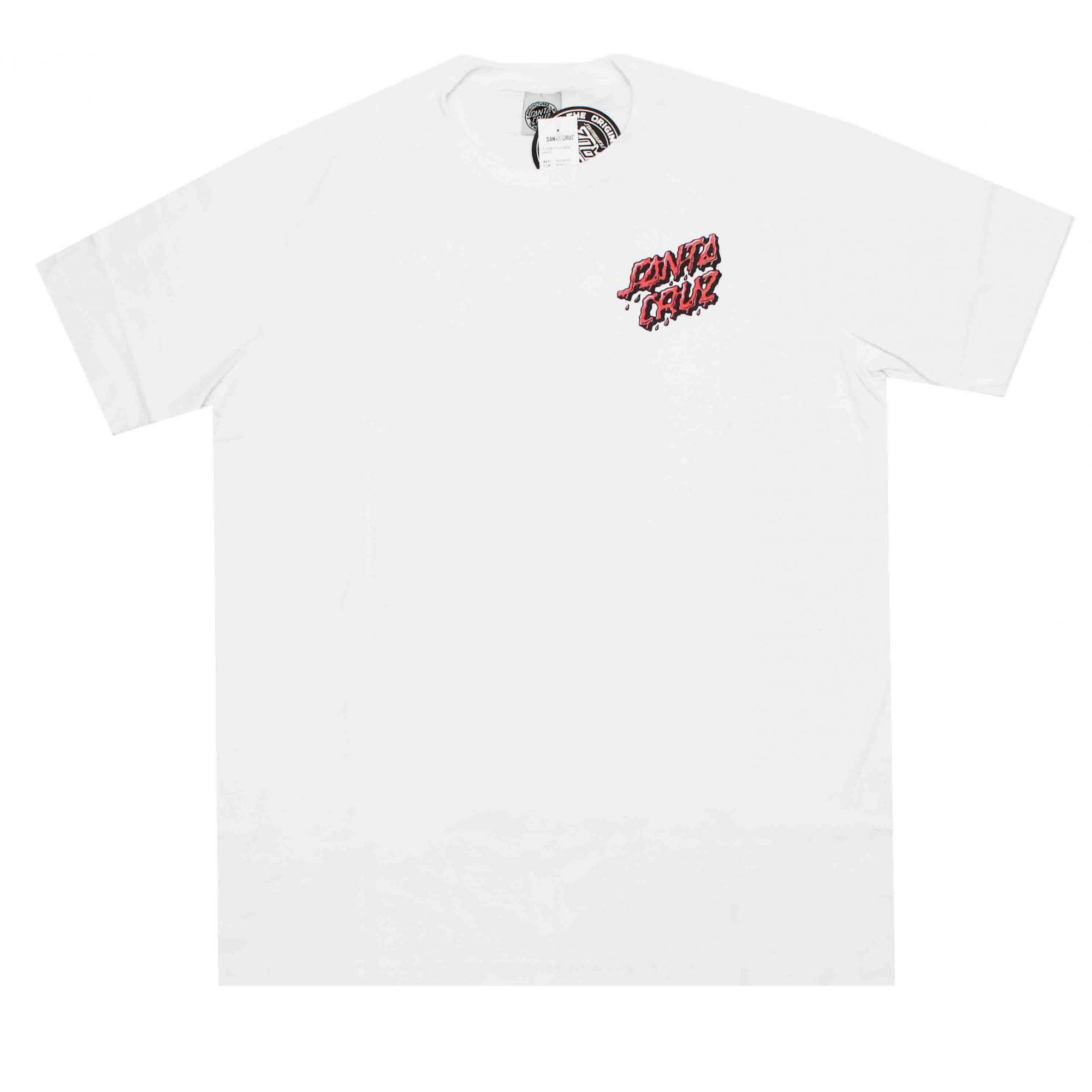 Camiseta Santa Cruz Fuckem Hand White