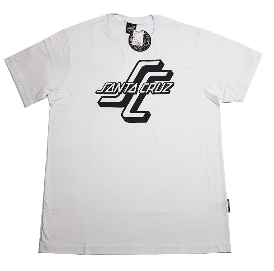 Camiseta Santa Cruz OGSC 1 Color White