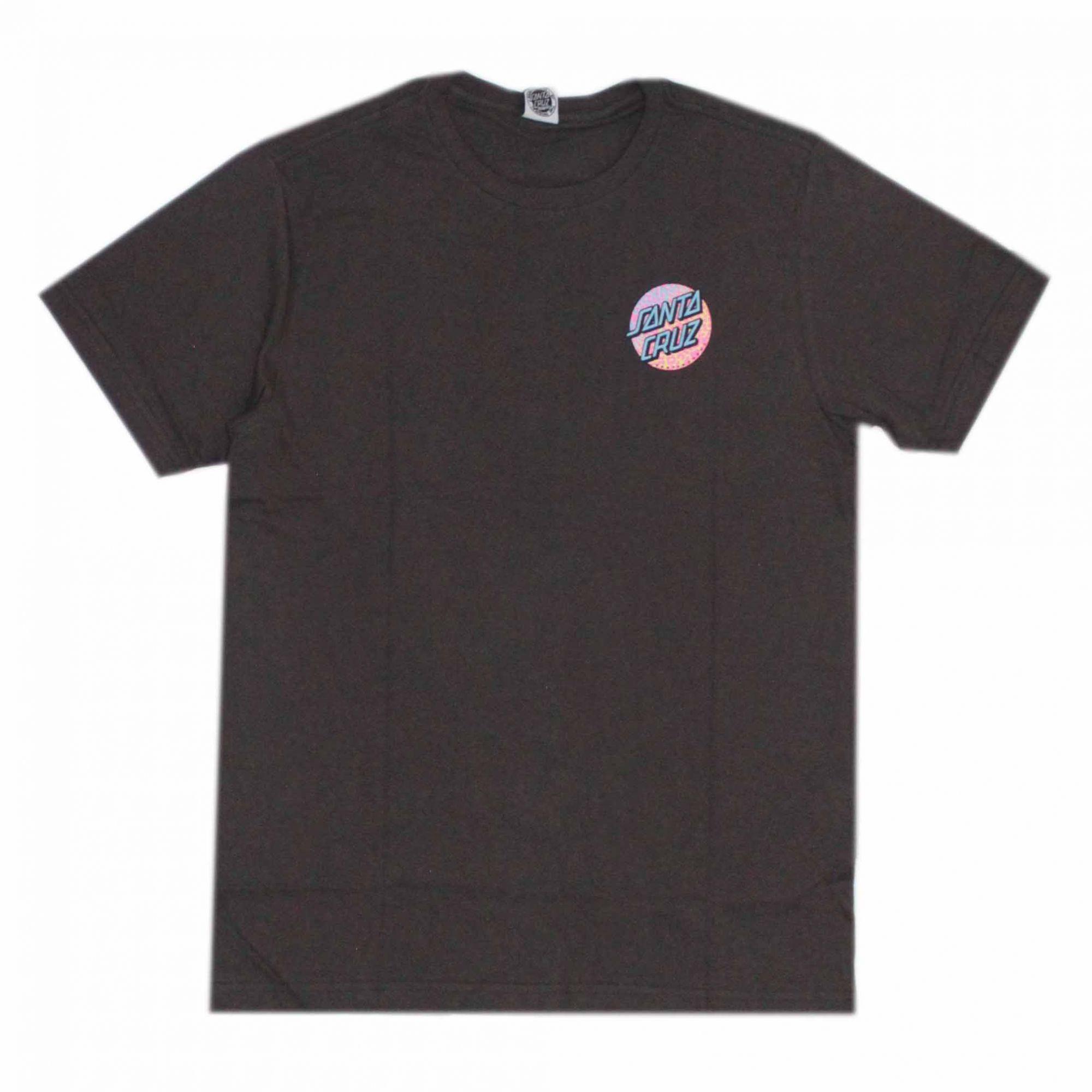 Camiseta Santa Cruz Prowl Dot Cinza Chumbo