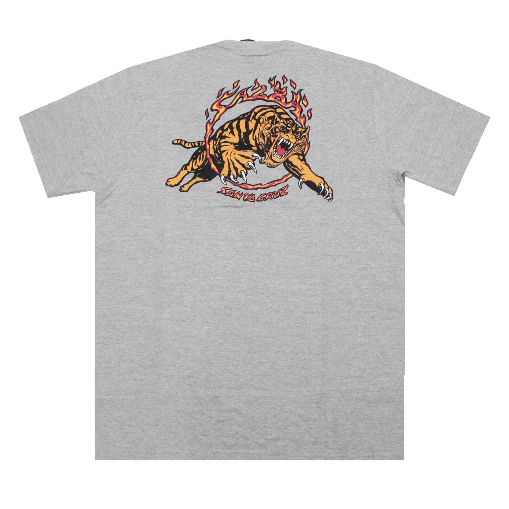 Camiseta Santa Cruz Salba Tiger Grey