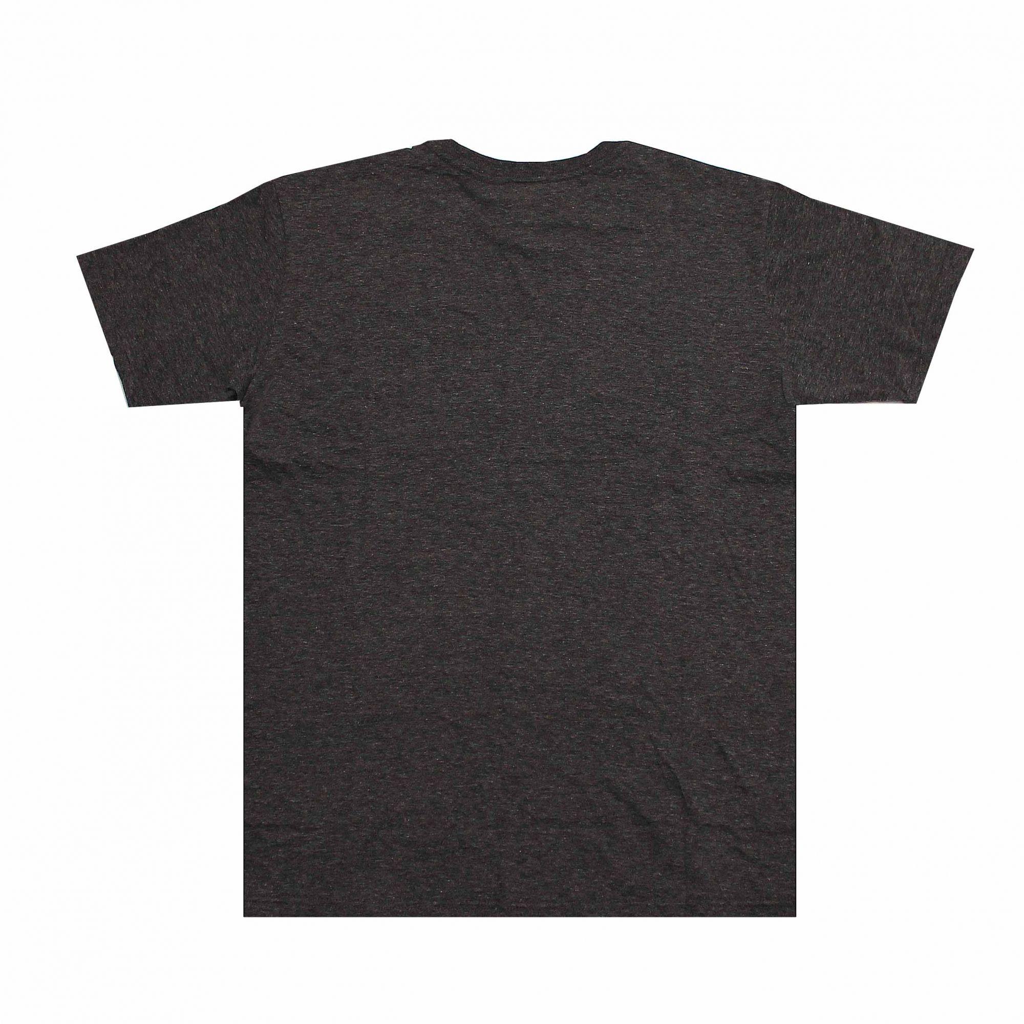Camiseta Thrasher Magazine Black Outlined Cinza Chumbo