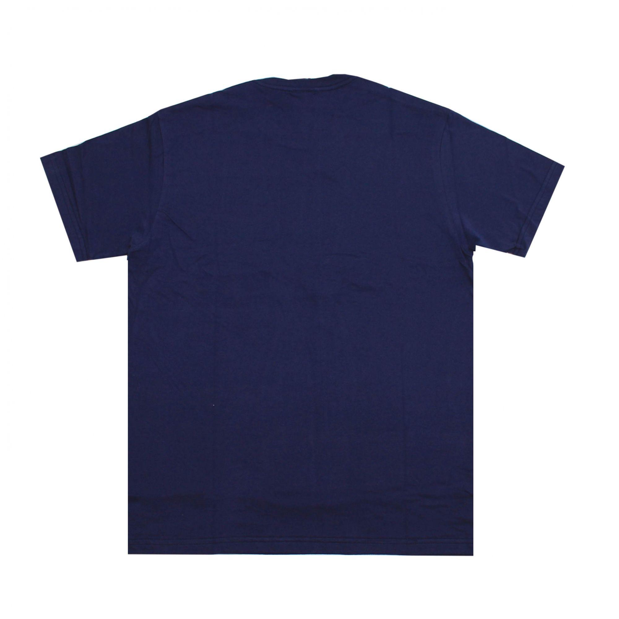 Camiseta Thrasher Magazine Flame Mag Azul Marinho