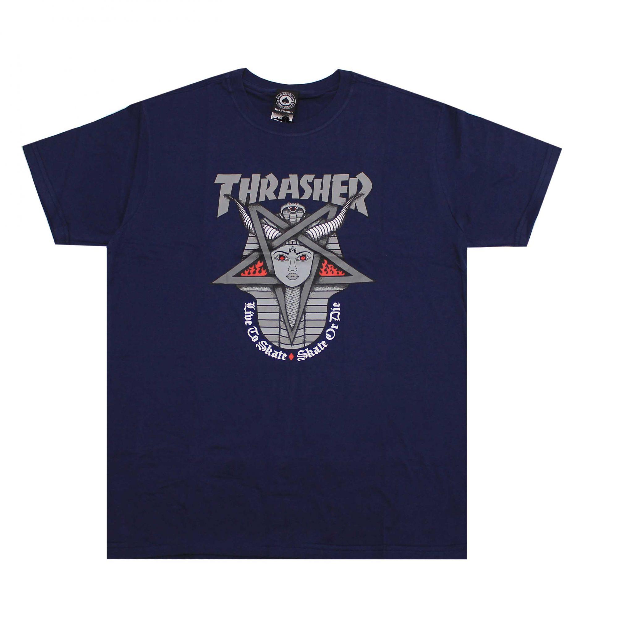 Camiseta Thrasher Magazine Goddess Azul Marinho