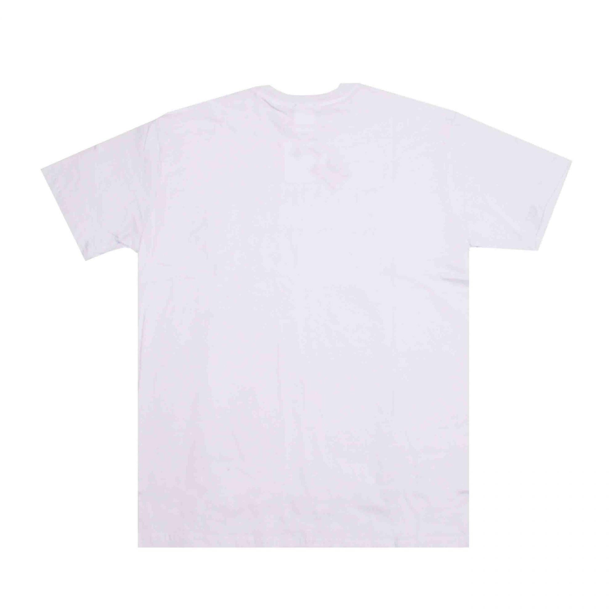 Camiseta Thrasher Magazine Mini Logo Bordado Branco