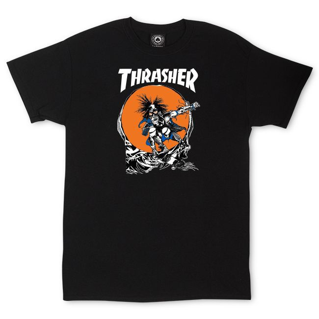 Camiseta Thrasher Magazine Outlaw Black