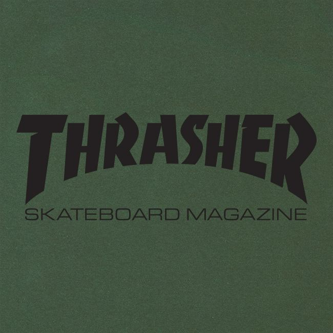 Camiseta Thrasher Magazine Skate Mag Military Green