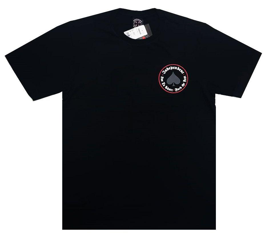 Camiseta Thrasher Magazine x Independent Oath Black