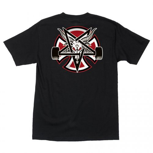 Camiseta Thrasher Magazine x Independent Pentagram Cross Black