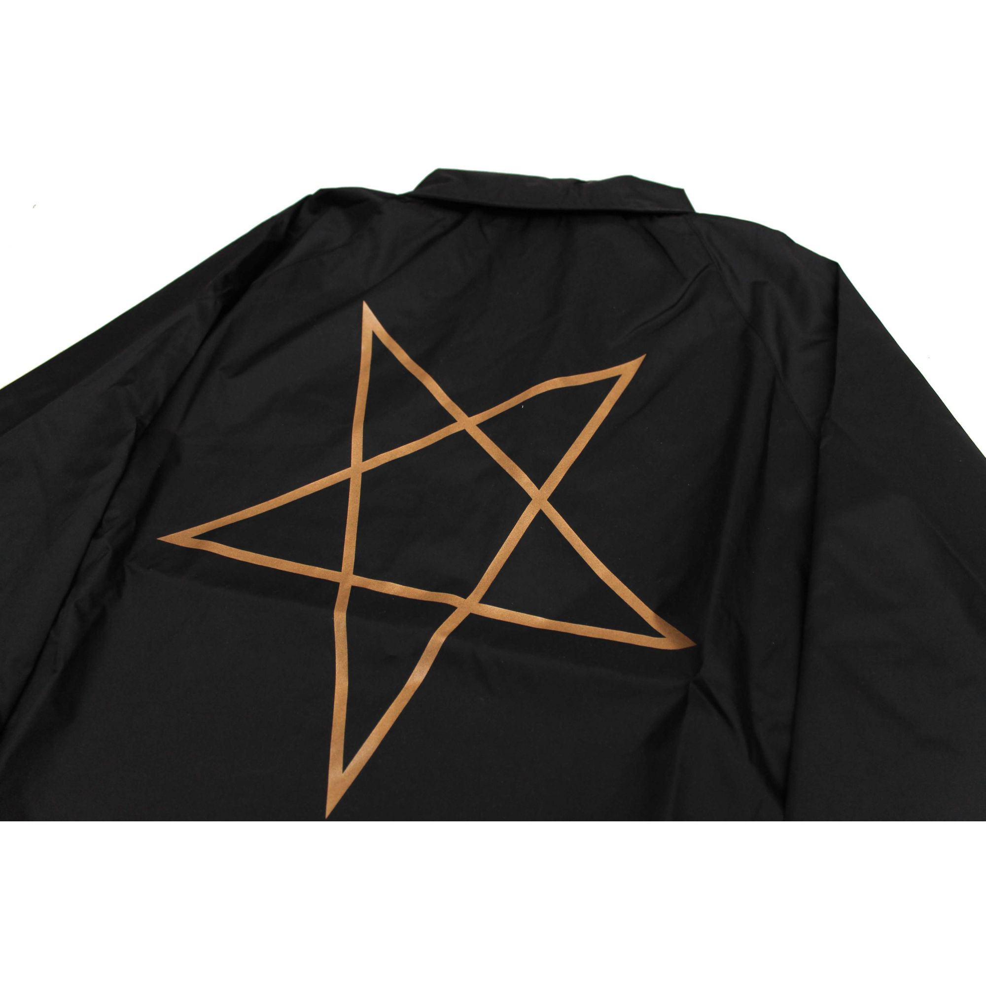 Jaqueta Corta Vento Thrasher Magazine Pentagram Black