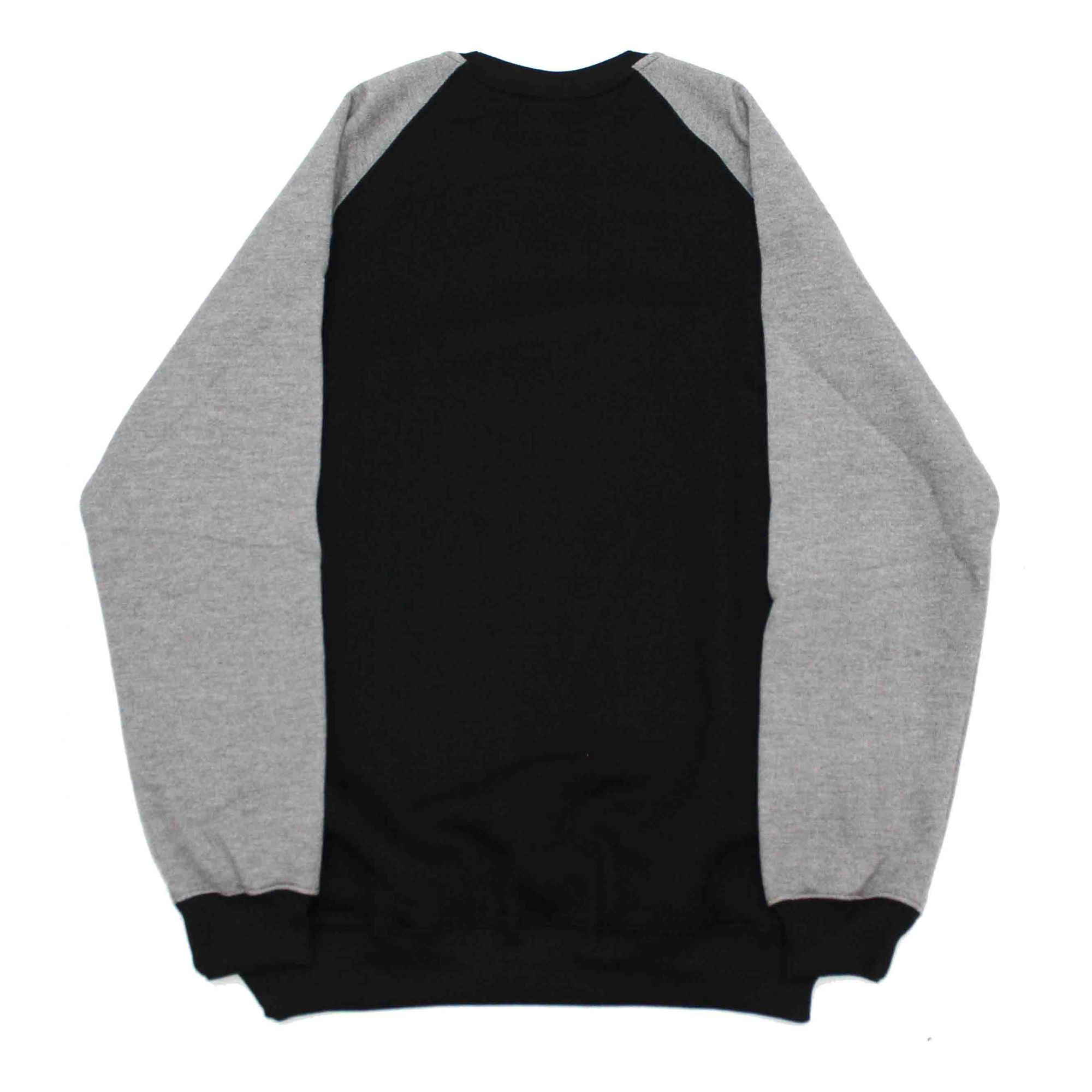 Moletom Santa Cruz Crewneck Raglan Screaming Hand Black/Grey