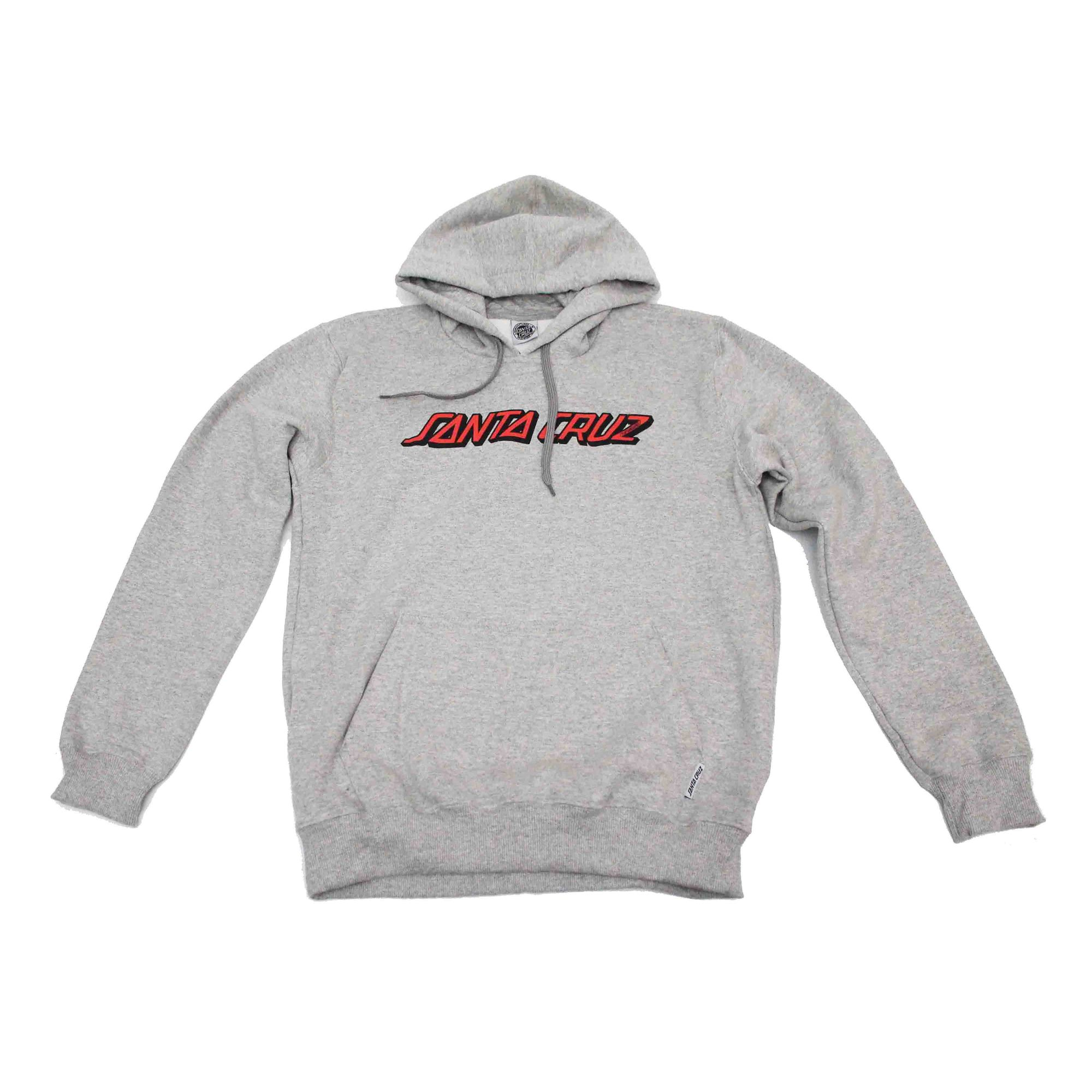 Moletom Santa Cruz Hood Classic Strip Grey