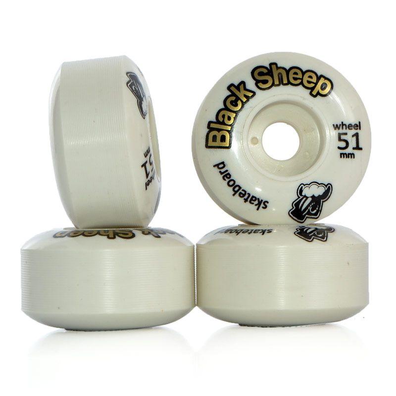 Roda Black Sheep Branca Standard - 51mm