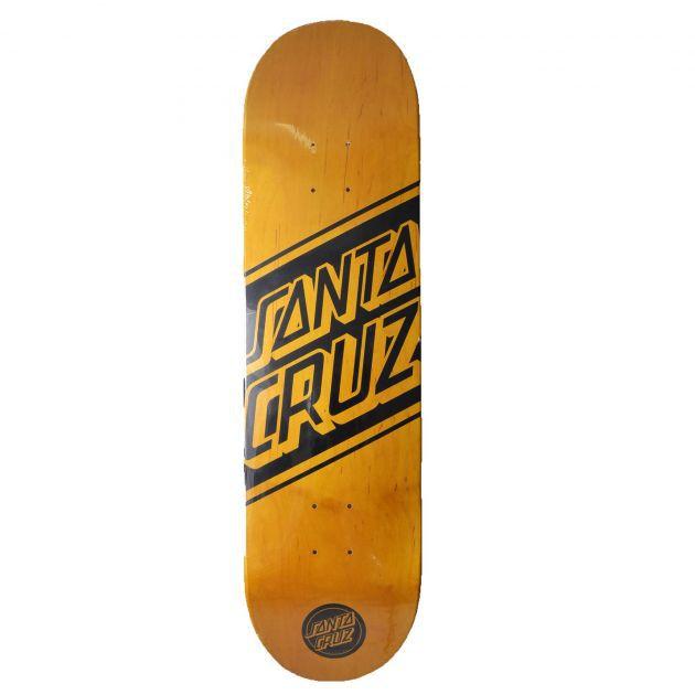 Shape Santa Cruz Maple Black Strip Importado - 8.3