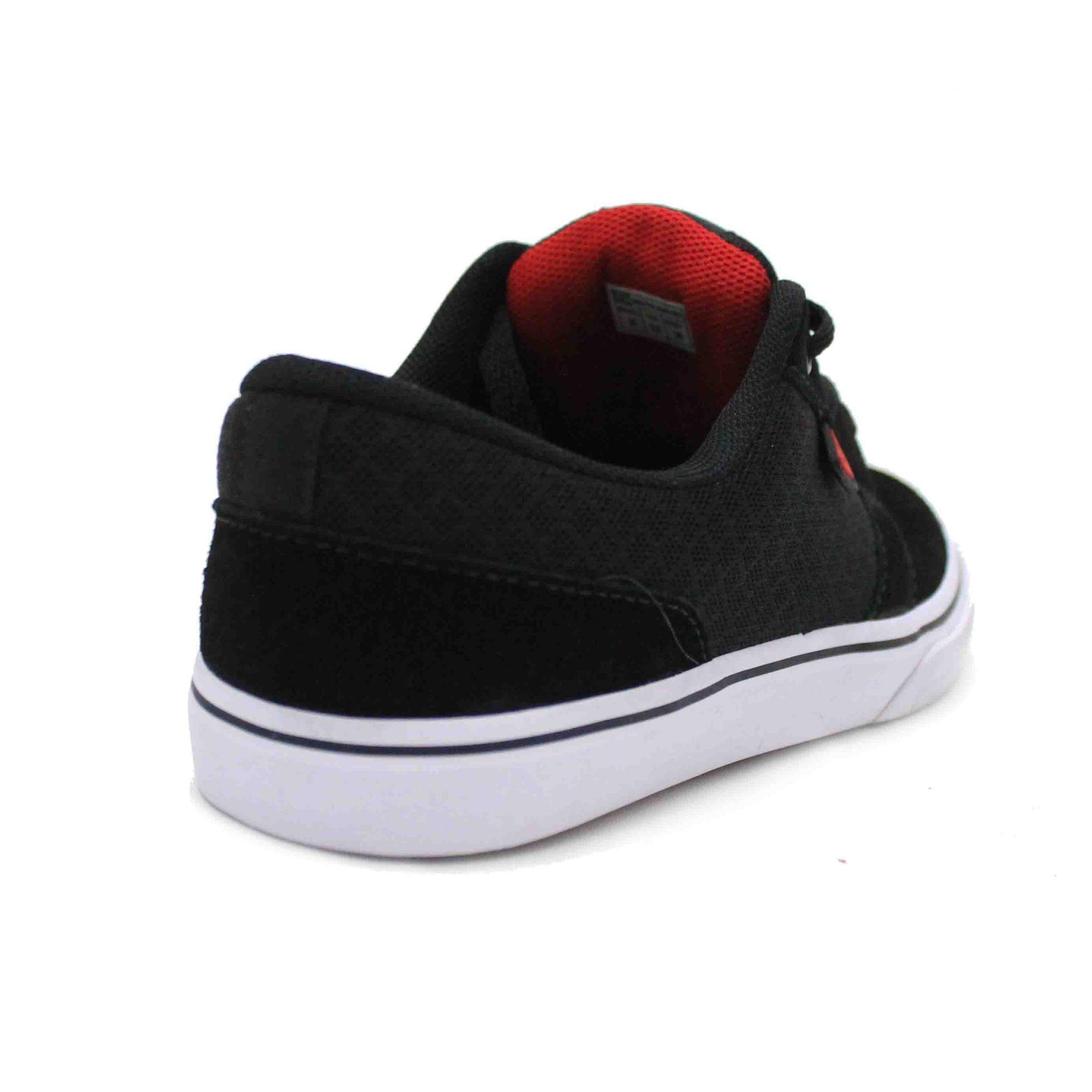 Tênis Freeday Select Black/White/Red