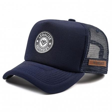 Boné Trucker Azul Legalize