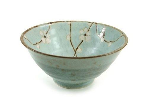 Bowl Porcelana Japonesa Céu Azul Sakura Flor Cerejeira