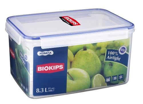 Pote Hermetico Biokips 8.3l C Grade No Fundo Profissional Ut
