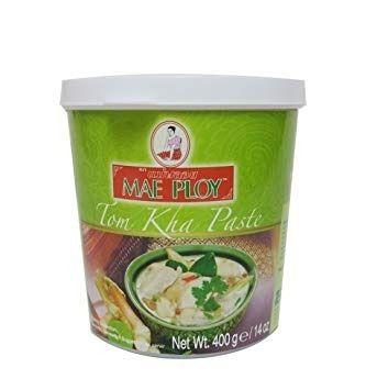 Pasta Sopa Tom Kha Verde - Mae Ploy - Tailandia - 400g Th