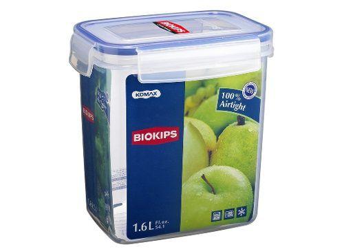 Pote Hermético Biokips Komax 1.6l Cereal Biscoitos