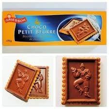 Biscoito Chocolate Alemão Griesson150grx6 Petit Beurre
