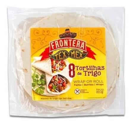 Tortilla Trigo Tex Mex Fajita Burrito Wrap 320g 8 Und Mx