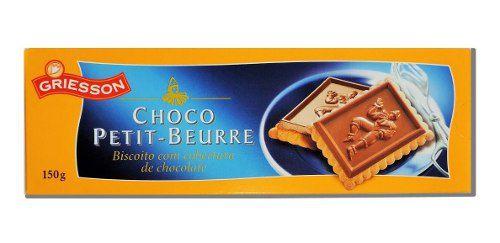 Biscoito Chocolate Alemão Griesson150grx2 Petit Beurre