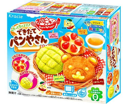 Kit Kracie Poppin Doce Criativo Japones 3 Unidades - Escolha