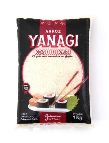 Arroz Japones Sushi Temaki Grão Curto Koshihikari 1kg