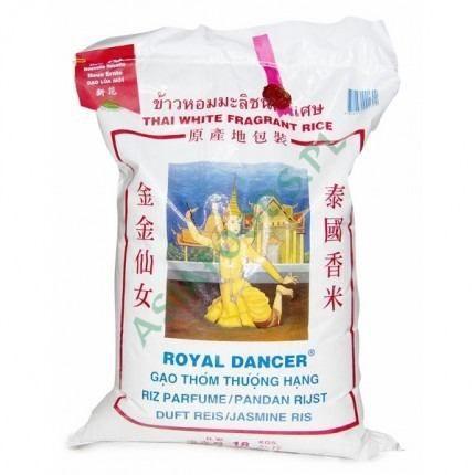 Arroz Jasmine Aromático Royal Dancer Tailandes 10kgs