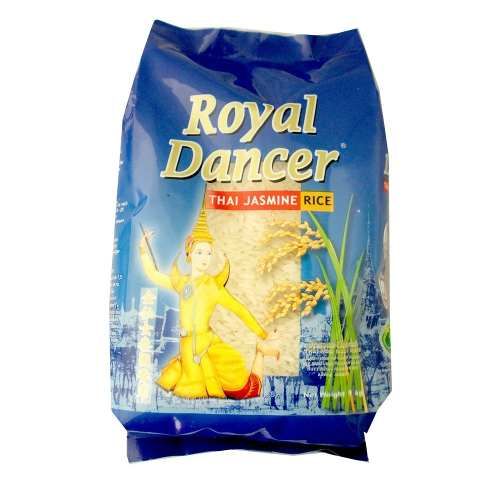 Arroz Jasmine aromático Tailandês Royal Dancer 1kg