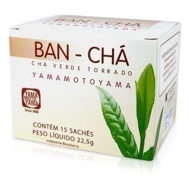 Bancha Cha Verde Torrado Yamamotoyama 22,5gr 15 Sachês