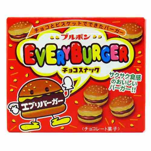 Biscoito Chocolate Everyburguer Mini  Japones 66gr