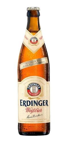 Cerveja De Trigo Erdinger Weissbier Garrafa 500ml