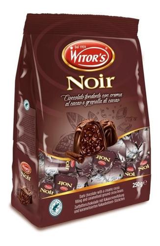 Chocolate Italiano Witors Noir Bombom Dark 1kg