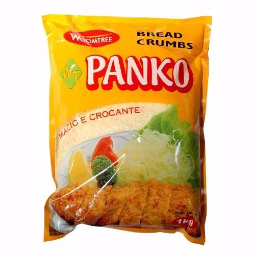 Farinha Empanar Panko Tempurá Tonkatsu Bread Crumbs 1kg