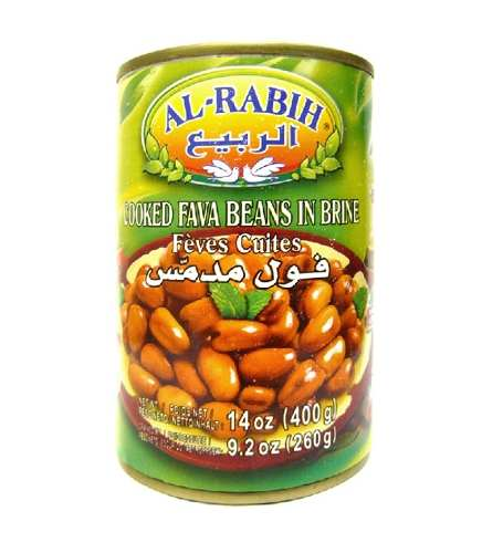 Feijão De Favas Libanesas Em Conserva Al-rabih 400gr