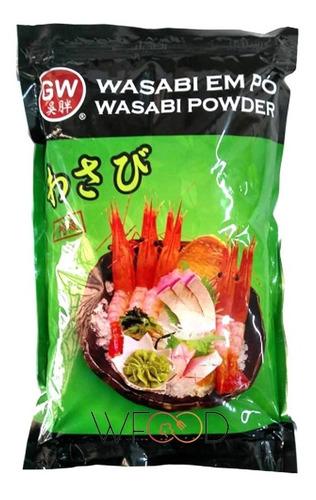 Fukumatsu Pó Wasabi Powder 1kg Importado Com Zip Lock Mc